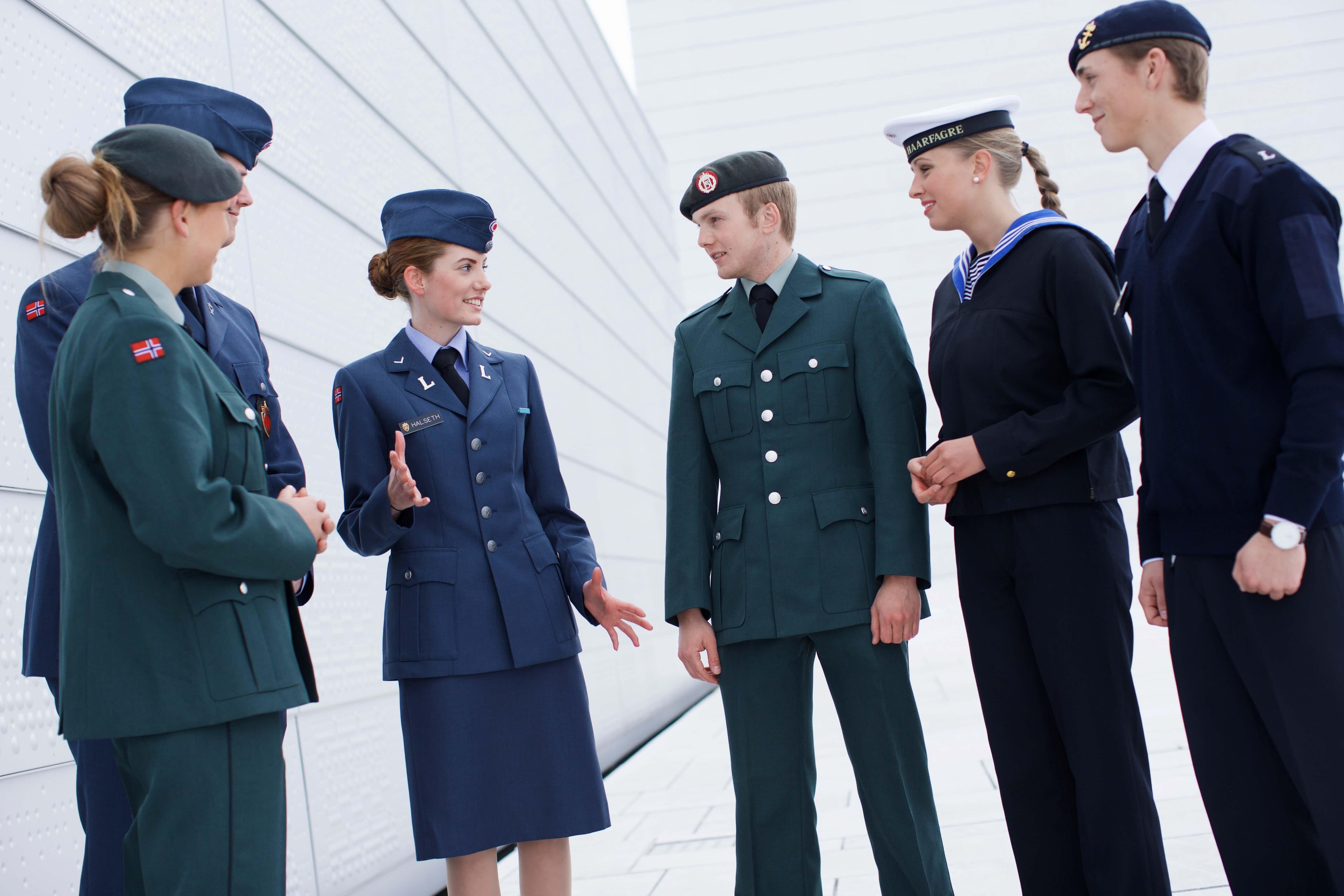 økt rekruttering av kvinner til forsvaret