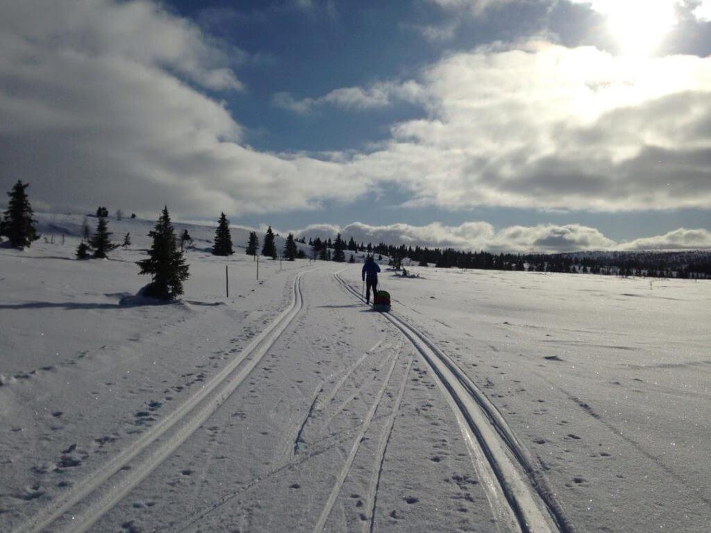 Mange steder i Norge er skiløypene et eksempel på sosial innovasjon