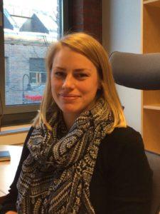 Stine Kvamme jobber på Lillehammer-kontoret.